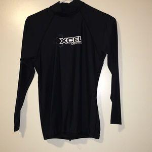 Xcel uv protection upf 50+ rashguard size m